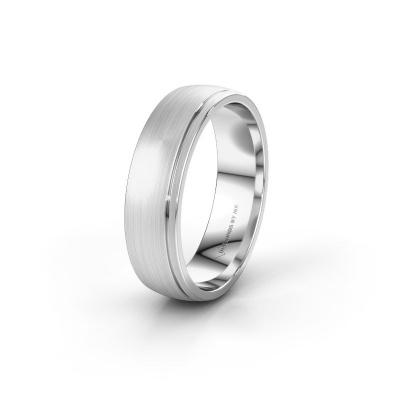Wedding ring WH0500M26AM 950 platinum ±6x1.7 mm