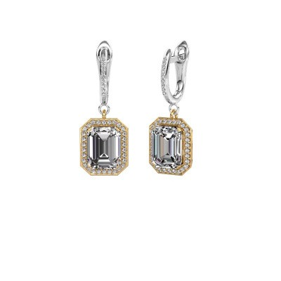 Oorhangers Dodie 2 585 goud diamant 5.345 crt