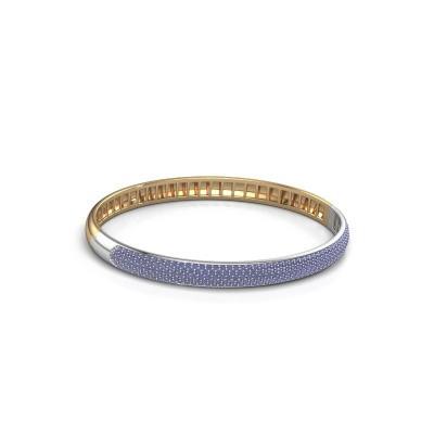 Foto van Armband Emely 6mm 585 goud saffier 1.2 mm