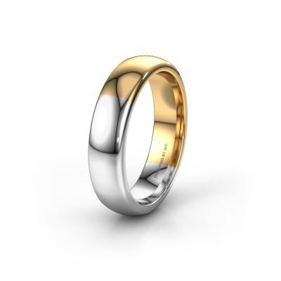 Wedding ring WH1003M26C 585 gold ±6x2.2 mm