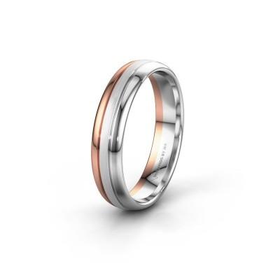 Wedding ring WH0400M35APM 585 rose gold ±5x1.7 mm