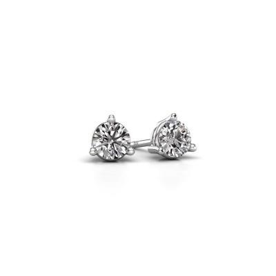 Foto van Oorstekers Somer 925 zilver diamant 0.50 crt