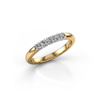 Foto van Ring Rianne 5 585 goud diamant 0.40 crt