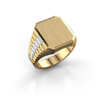 Picture of Signet ring Erik 3 585 gold