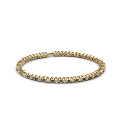 Foto van Tennisarmband Trix 375 goud zwarte diamant 1.980 crt