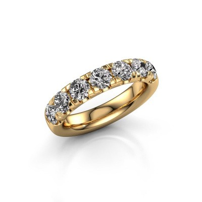 Picture of Stackable ring Jackie Half 375 gold diamond 1.75 crt