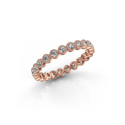Foto van Ring Mariam 0.03 375 rosé goud lab-grown diamant 0.69 crt