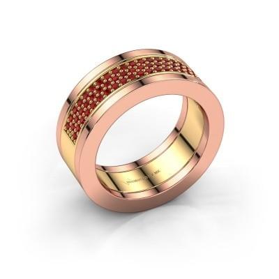 Foto van Ring Marita 2 585 goud robijn 1.1 mm