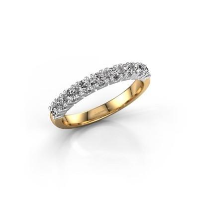 Foto van Aanzoeksring Rianne 9 585 goud lab-grown diamant 0.495 crt