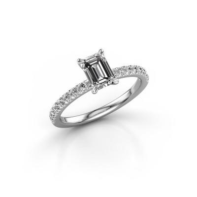 Foto van Verlovingsring Crystal EME 2 950 platina lab-grown diamant 0.90 crt