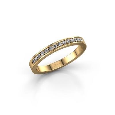 Foto van Aanschuifring SRJ0005B20H6 585 goud diamant 0.168 crt