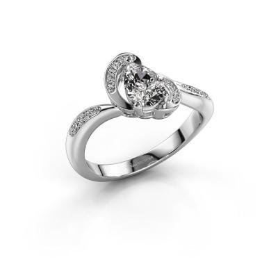 Foto van Ring Jonelle 925 zilver diamant 0.748 crt