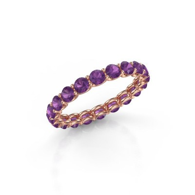 Picture of Ring Kirsten 2.9 375 rose gold amethyst 2.9 mm