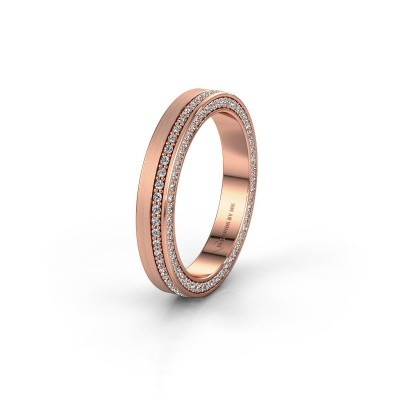 Wedding ring WH2214L15BM 585 rose gold diamond 0.55 crt ±5x2 mm