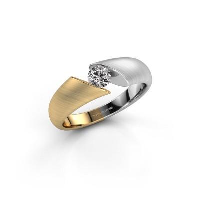 Foto van Ring Hojalien 1 585 goud zirkonia 4.2 mm
