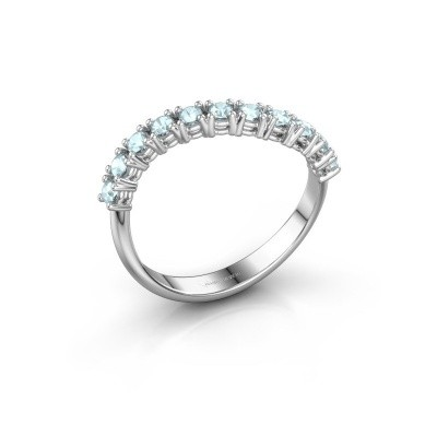 Ring Eliza 925 Silber Aquamarin 2 mm