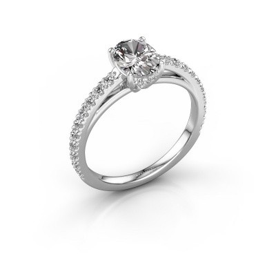 Picture of Engagement ring Haley OVL 2 925 silver diamond 1.324 crt