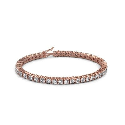 Foto van Tennisarmband Karin 375 rosé goud lab-grown diamant 10.75 crt