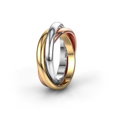 Bild von Ring TRINITY 585 Gold