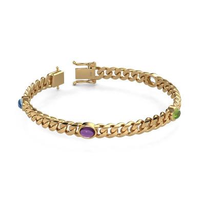 Picture of Link link bracelet Corinne 7mm 585 gold