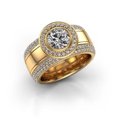 Foto van Ring Roxie 585 goud lab-grown diamant 2.06 crt