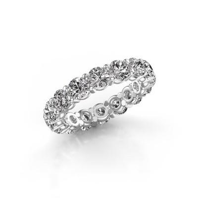 Foto van Aanschuifring Heddy rnd 4.0 585 witgoud diamant 4.00 crt