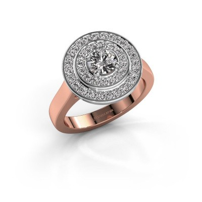 Picture of Ring Alecia 1 585 rose gold diamond 0.948 crt