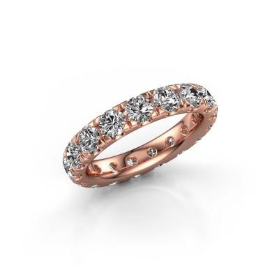 Foto van Aanschuifring Jackie 3.7 375 rosé goud lab-grown diamant 3.40 crt