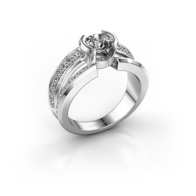 Foto van Heren ring Rowan 925 zilver zirkonia 6.5 mm