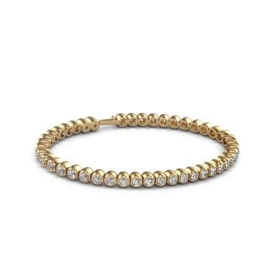 Tennisarmband Asley 375 goud lab-grown diamant 4.40 crt
