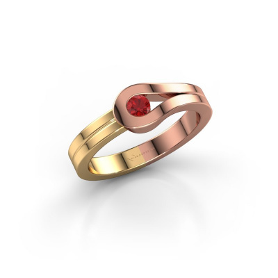 Ring Kiki 585 Roségold Rubin 3 mm