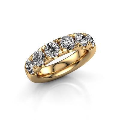 Aanschuifring Jackie Half 375 goud diamant 2.40 crt