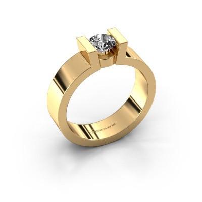 Verlovingsring Lieve 1 375 goud diamant 0.40 crt