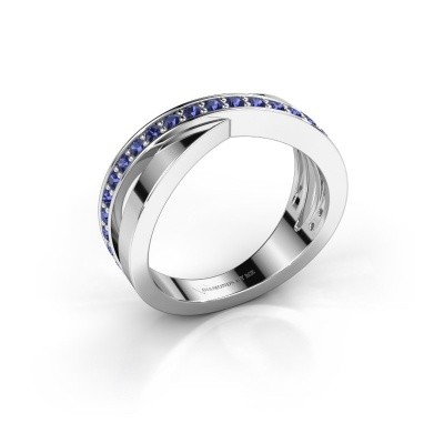 Picture of Ring Essie 925 silver sapphire 1.5 mm