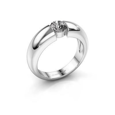 Foto van Verlovingsring Amelia 950 platina diamant 0.40 crt