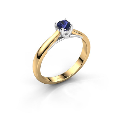 Engagement ring Mia 1 585 gold sapphire 4 mm