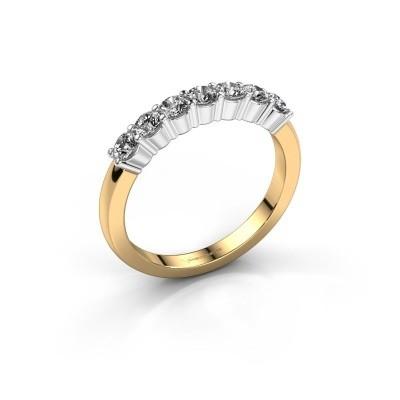 Foto van Verlovingsring Yasmin 7 585 goud lab-grown diamant 0.56 crt