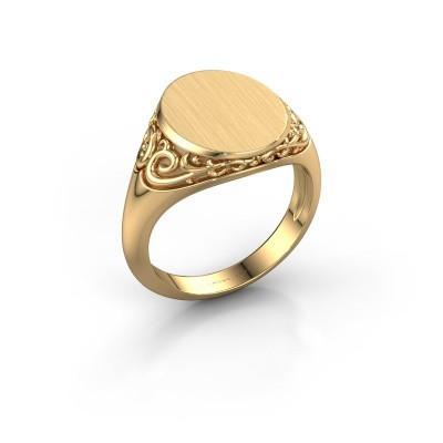 Foto van Heren ring Jelle 3 375 goud