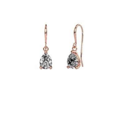 Picture of Drop earrings Laurie 1 585 rose gold diamond 1.60 crt