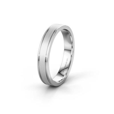 Wedding ring WH0600M14AM 950 platinum ±4x1.7 mm