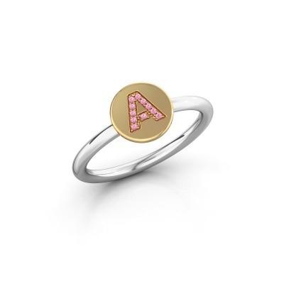 Ring Initial ring 050 585 witgoud