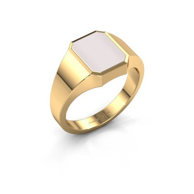 Signet ring Glenn 1 585 gold red sardonyx 10x8 mm