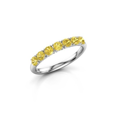 Picture of Ring Vivienne Half 950 platinum yellow sapphire 2.9 mm