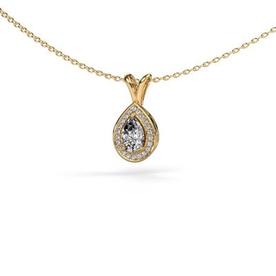 Ketting Ginger 375 goud lab-grown diamant 0.505 crt
