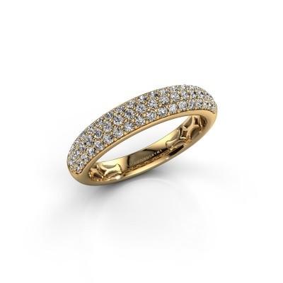 Foto van Ring Emely 4 375 goud lab-grown diamant 0.626 crt