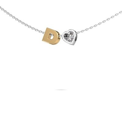 Picture of Initial pendant Initial 040 585 gold