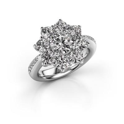 Verlobungsring Carolyn 2 950 Platin Diamant 1.00 crt