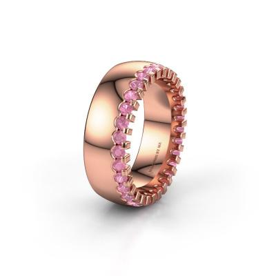 Ehering WH6120L27C 585 Roségold Pink Saphir ±7x2.2 mm