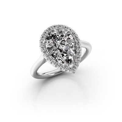 Picture of Engagement ring Monique 1 585 white gold diamond 0.75 crt