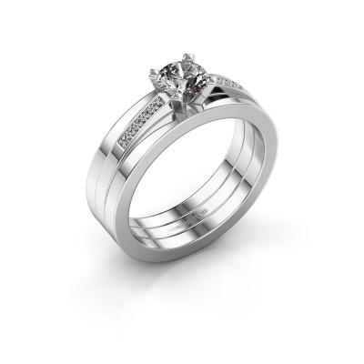 Verlobungsring Celeste 950 Platin Diamant 0.55 crt